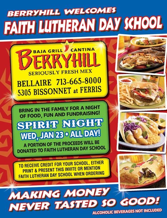 Berryhill Fundraiser