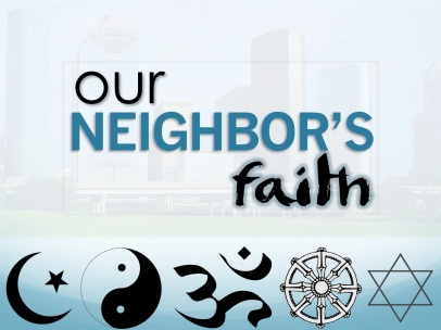 Our Neighbors Faith graphic