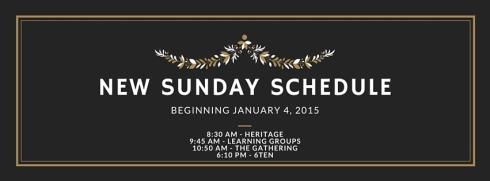 NEW 2015 schedule banner