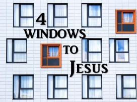 Four Windows to Jesus graphic